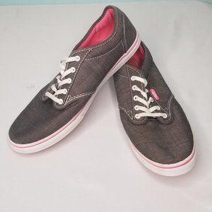 VANS gray and pink sneakers